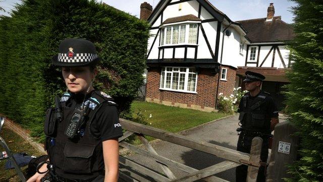 Police at Surrey home of Saad al-Hilli