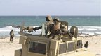 Africa Union troops stationed in Elman, Somalia - Tuesday 4 September 2012
