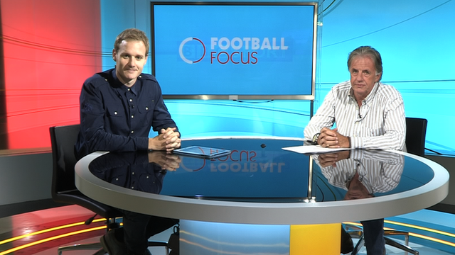 Dan Walker and Mark Lawrenson