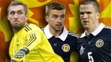 Allan McGregor, James Morrison and Gary Caldwell
