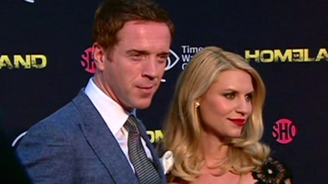 Damian Lewis and Claire Danes