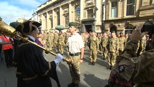 5th Battalion The Rifles in Doncaster