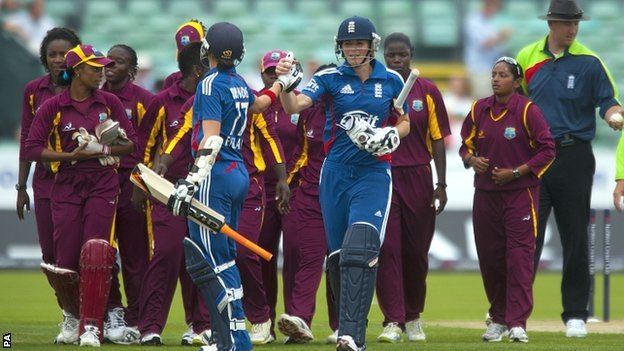 England women beat West Indies in Twenty20 international