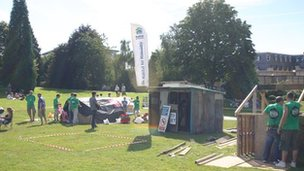 Shack Attack in Calverley Grounds
