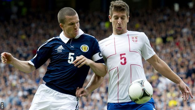 Gary Caldwell and Matija Nastasic