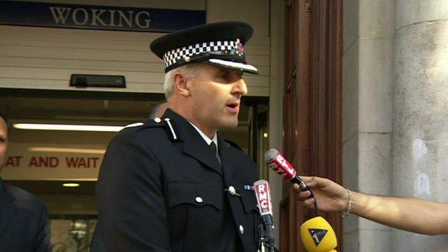 Assistant Chief Constable Rob Price of Surrey Police