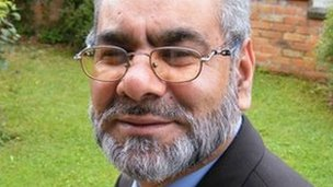 Ansar Ali, independent candidate