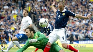 Vladimir Stojkovic and Kenny Miller