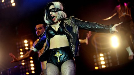 Lady Gaga performs at Radio 1's Big Weekend last year