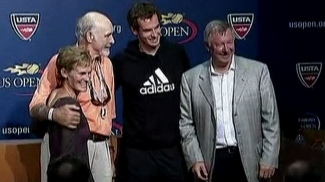 Andy and Judy Murray are joined by Sean Connery and Sir Alex Ferguson