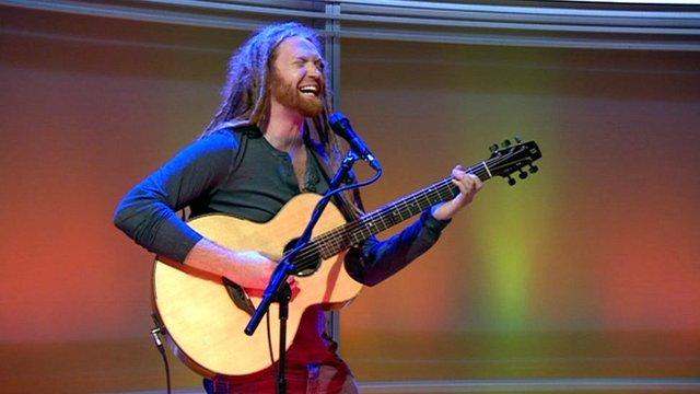 Newton Faulkner on The Andrew Marr Show