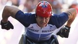 David Weir win Paralympic marathon