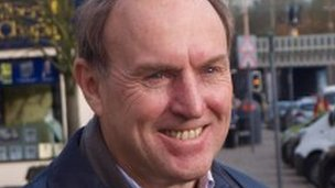 Mick Thwaites, independent candidate