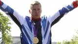 David Weir celebrates winning Paralympics marathon gold