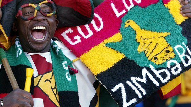 Zimbabwe fan