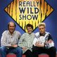 Terry Nutkins, Nicola Davies and Chris Packham on The Really Wild Show in 1989
