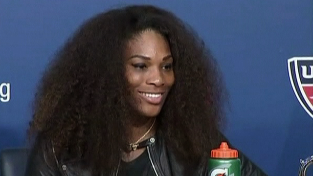 US Open champion Serena Williams