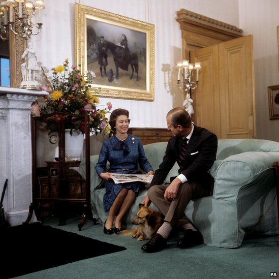 Bbc News In Pictures The Queen S Corgis