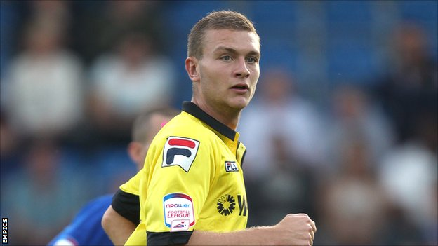 Tranmere Rovers defender Ben Gibson