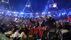 Paralympians at the closing ceremony in London (9 Sept 2012)