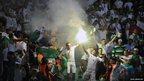 Algerian supporters