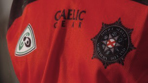PSNI gaelic top