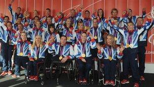 ParalympicsGB medal winners