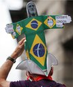 Games Maker with Brazil on head