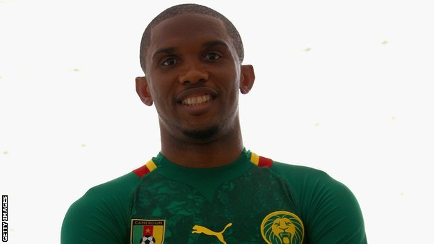 Cameroon striker Samuel Eto&#039;o