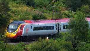 Virgin West Coast train