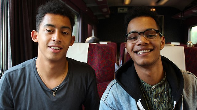 Rizzle Kicks  Photo: Manuel Toledo, BBC Africa