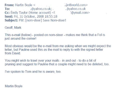 Martin Boyle email