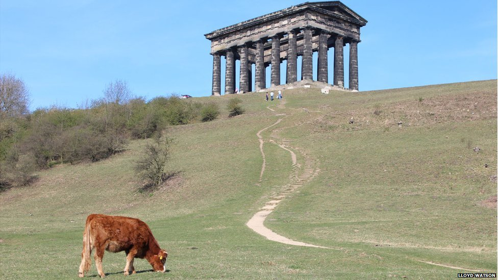 Bbc News In Pictures Penshaw Monument S Secret Staircase