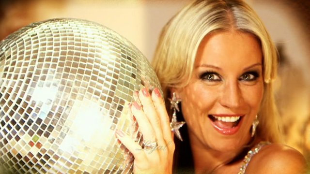 TV presenter Denise Van Outen