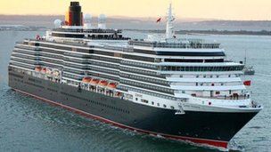 Cunard's Queen Victoria cruise ship