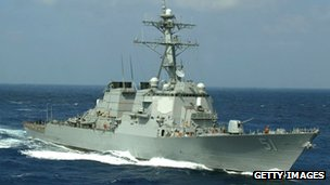 USS Arleigh Burke (file images)