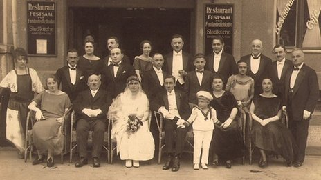 Montrose family wedding in 1923