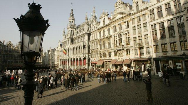 La Grande Place in Brussels