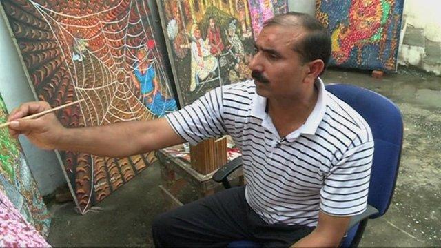 Mehmood Ahmed painting