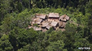 Irotahteri community in the Amazon