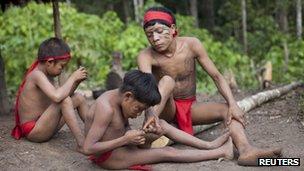 Yanomami in Irotatheri
