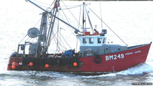 Beam trawler Sarah Jayne