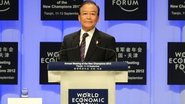 Chinese Premier Wen Jiabao