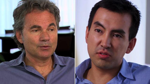 Martin Varsavsky and Carlos Moncayo