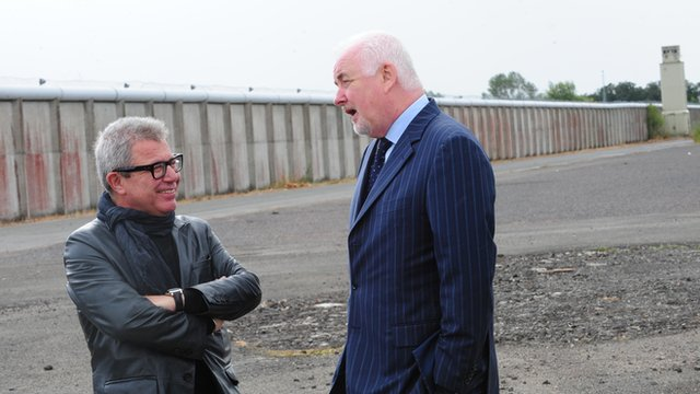 Daniel Libeskind and Martin Hare