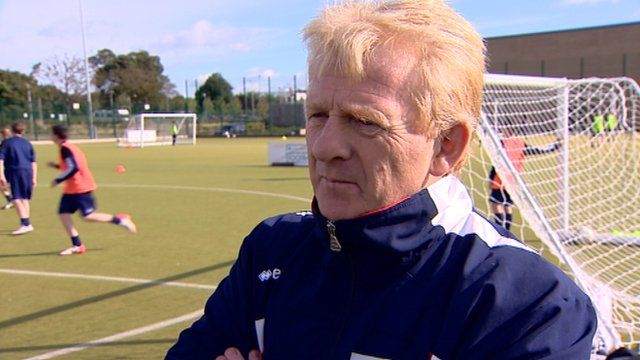 Former Celtic and Middlesbrough boss Gordon Strachan