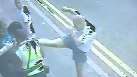 CCTV of Braunstone Gate