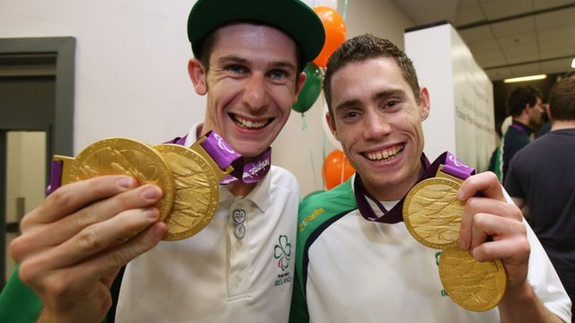 Michael McKillop and Jason Smyth both clinched two gold medals at the Paralympics
