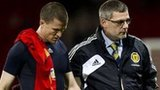 Gary Caldwell and Craig Levein