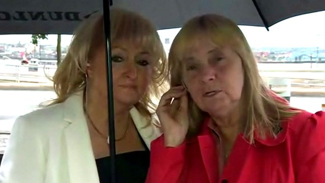 Jenni Hicks (left) and Margaret Aspinall